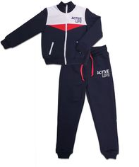 Акция на Спортивный костюм Danaya ШЯ19-113 140 см Темно-синий (2000014375642) от Rozetka