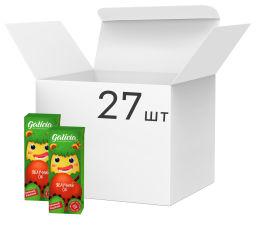 Акция на Упаковка сока Galicia Яблочный прямого отжима неосветленный 0.2 л х 27 шт (4820209560664) от Rozetka