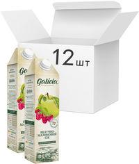 Акция на Упаковка сока Galicia Яблочно-малинового пастеризованного неосветленного 1 л х 12 шт (4820209563566) от Rozetka