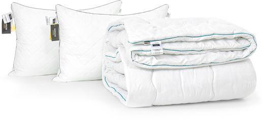 Акция на Набор антиаллергенный MirSon 3M Thinsulatе Eco Зима Silver Hand Made №2956 одеяло 172х205 + 2 подушки 50x70 средние (2200002259392) от Rozetka