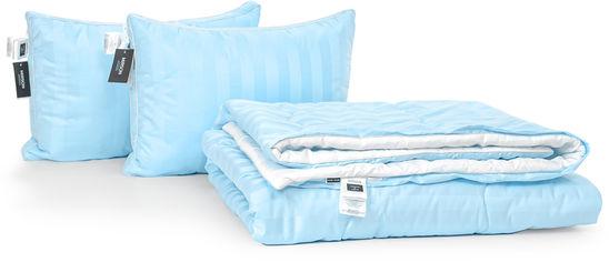 Акция на Набор антиаллергенный MirSon 3M Thinsulatе Деми Valentino Hand Made №2980 одеяло 172х205 + 2 подушки 50x70 трехкамерные мягкие (2200002256520) от Rozetka