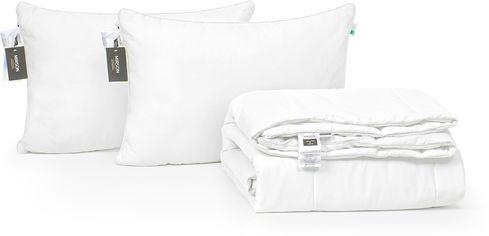 Акция на Набор антиаллергенный MirSon 3M Thinsulatе Лето Luxury Exclusive №3088 одеяло 200х220 + 2 подушки 50x70 средние (2200002562195) от Rozetka
