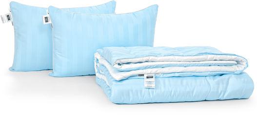 Акция на Набор антиаллергенный MirSon 3M Thinsulatе Деми Valentino Hand Made №2974 одеяло 220х240 + 2 подушки 50x70 срдение (2200002257701) от Rozetka