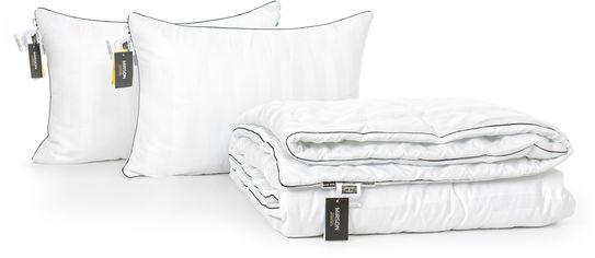 Акция на Набор антиаллергенный MirSon 3M Thinsulatе Деми Royal Pearl Hand Made №2998 одеяло 172х205 + 2 подушки 50x70 средние (2200002256599) от Rozetka