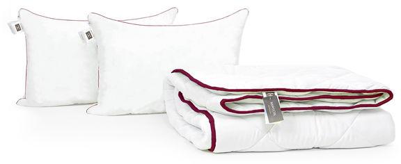 Акция на Набор антиаллергенный MirSon 3M Thinsulatе Зима Deluxe №3014 одеяло 220х240 + 2 подушки 50x70 упругие (2200002260879) от Rozetka