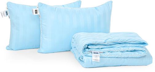 Акция на Набор антиаллергенный MirSon 3M Thinsulatе Лето Valentino Hand Made №3035 одеяло 172х205 + 2 подушки 50x70 упругие (2200002262927) от Rozetka