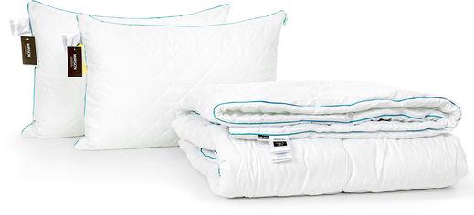 Акция на Набор антиаллергенный MirSon 3M Thinsulatе Деми Eco Hand Made №2944 одеяло 172х205 + 2 подушки 50x70 средние (2200002256407) от Rozetka