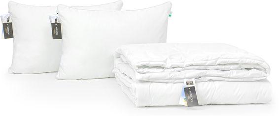 Акция на Набор антиаллергенный MirSon 3M Thinsulatе Деми Luxury Exclusive №3090 одеяло 172х205 + 2 подушки 50x70 мягкие (2200002263115) от Rozetka