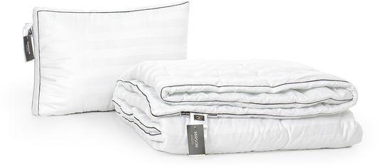 Акция на Набор антиаллергенный MirSon 3M Thinsulatе Деми Royal Pearl Hand Made №3004 одеяло 155х215 + подушка 50x70 трехкамерная упругая (2200002255578) от Rozetka