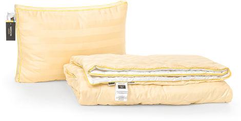Акция на Набор антиаллергенный MirSon 3M Thinsulatе Лето Carmela Hand Made №2991 одеяло 140х205 + подушка 50x70 трехкамерная средняя (2200002261562) от Rozetka