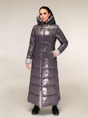 Акция на Куртка Favoritti ПВ-1202-Лак 54 Темно-серая (4900000238952) от Rozetka