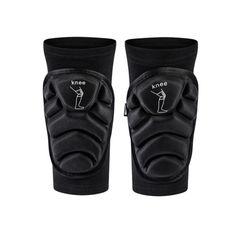Акция на Наколенники налокотники Knee Для занятий спортом Защитные Противоскользящие M Черный (1006-828-01) от Allo UA