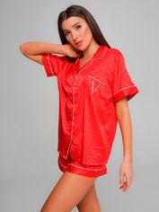 Акция на Пижама Victoria's Secret 45283 S Красная (H2500000014987) от Rozetka