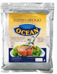 Акция на Тунец кусочками Ocean в оливковом масле 1 кг (8000935168037) от Rozetka