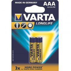 Акция на Батарейка VARTA LONGLIFE AAA BLI 2 ALKALINE (4103101412) от MOYO