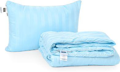 Акция на Набор антиаллергенный MirSon Eco-Soft Лето Valentino Hand Made №2511 одеяло 220х240 см + 2 подушки 50х70 мягкие (2200002074407) от Rozetka