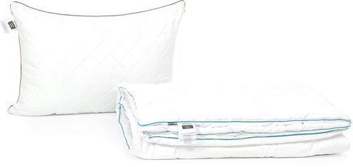 Акция на Набор антиаллергенный MirSon Eco-Soft Лето Eco Jojoba Hand Made №2419 одеяло 172х205 см + 2 подушки 50х70 средние (2200002061384) от Rozetka