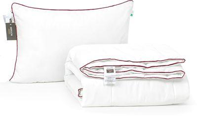 Акция на Набор антиаллергенный MirSon Eco-Soft Лето Deluxe Hand Made №2493 одеяло 220х240 см + 2 подушки 50х70 мягкие (2200002073431) от Rozetka