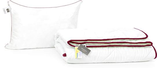 Акция на Набор антиаллергенный MirSon Eco-Soft Деми Deluxe №2489 одеяло 200х220 см + 2 подушки 50х70 упругие (2200002067348) от Rozetka