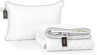 Акция на Набор антиаллергенный MirSon Eco-Soft Лето Royal Pearl Hand Made №2474 одеяло 220х240 см + 2 подушки 50х70 упругие (2200002073370) от Rozetka