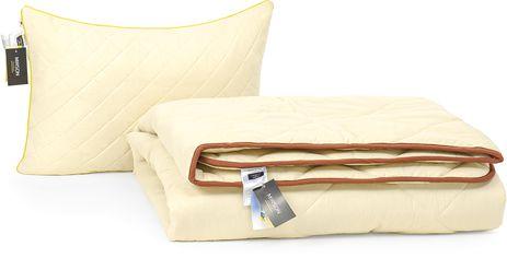 Акция на Набор антиаллергенный MirSon Eco-Soft Зима Carmela №2531 одеяло 140х205 см + подушка 50х70 упругая (2200002063609) от Rozetka