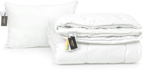 Акция на Набор антиаллергенный MirSon Eco-Soft Зима Luxury Exclusive №2572 одеяло 140х205 см + подушка 50х70 средняя (2200002063739) от Rozetka
