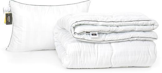 Акция на Набор антиаллергенный MirSon Eco-Soft Зима Royal Pearl Hand Made №2479 одеяло 155х215 см + подушка 50х70 средняя (2200002069199) от Rozetka