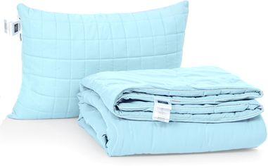 Акция на Набор антиаллергенный MirSon Eco-Soft Лето Valentino №2504 одеяло 200х220 см + 2 подушки 50х70 упругие (2200002430975) от Rozetka