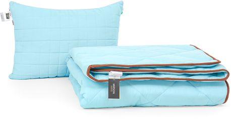 Акция на Набор антиаллергенный MirSon Eco-Soft Зима Valentino №2508 одеяло 172х205 см + 2 подушки 50х70 мягкие (2200002065863) от Rozetka