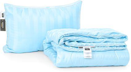 Акция на Набор антиаллергенный MirSon Eco-Soft Лето Valentino Hand Made №2520 одеяло 140х205 см + подушка 50х70 трехкамерная мягкая (2200002061001) от Rozetka