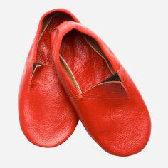 Акция на Чешки кожаные Модный карапуз 06-00012 31 19.5 см Красные (4822663706121) от Rozetka