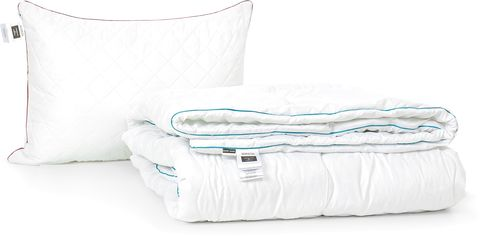 Акция на Набор антиаллергенный MirSon Eco-Soft Деми Eco Jojoba Hand Made №2422 одеяло 155х215 см + подушка 50х70 средняя (2200002066280) от Rozetka