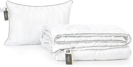 Акция на Набор антиаллергенный MirSon Eco-Soft Деми Royal Pearl Hand Made №2557 одеяло 172х205 см + 2 подушки 50х70 средние (2200002063098) от Rozetka