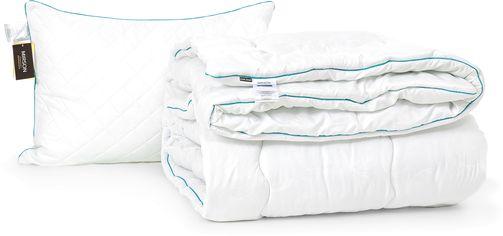 Акция на Набор антиаллергенный MirSon Eco-Soft Зима Eco Line Hand Made №2434 одеяло 155х215 см + подушка 50х70 средняя (2200002069014) от Rozetka
