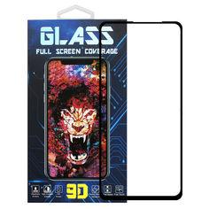 Акция на Защитное стекло Premium Glass 9D Full Glue для Realme 6 Pro Black от Allo UA