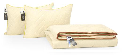 Акция на Набор с бамбуковым волокном MirSon Carmela Деми №3399 Одеяло 172х205 + 2 подушки 50х70 упругие (2200002298933) от Rozetka