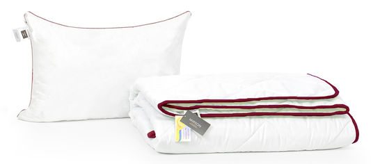 Акция на Набор с бамбуковым волокном MirSon De Luxe Деми №3359 Одеяло 155х215 + подушка 50х70 средняя (2200002296779) от Rozetka