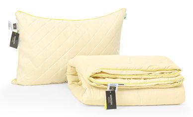 Акция на Набор с бамбуковым волокном MirSon Carmela Лето №3395 Одеяло 140х205 + подушка 50х70 средняя (2200002290265) от Rozetka