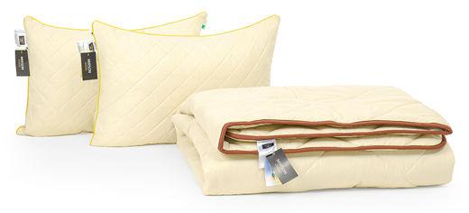 Акция на Набор с бамбуковым волокном MirSon Carmela Зима №3401 Одеяло 172х205 + 2 подушки 50х70 средние (2200002308816) от Rozetka
