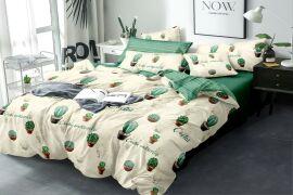 Акция на Комплект постельного белья MirSon Бязь 17-0322 Peyote 200x220 (2200002463744) от Rozetka