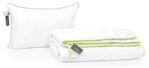 Акция на Набор с эвкалиптовым волокном MirSon Eco Line Деми Aloe Vera №2577 Одеяло 140х205 + подушка 50х70 средняя (2200002132732) от Rozetka