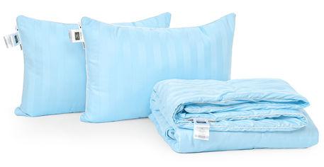 Акция на Набор с шелковым волокном MirSon Лето Valentino Hand Made №3557 Одеяло 172х205 + 2 подушки 50x70 средние (2200002329927) от Rozetka