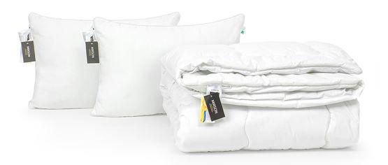 Акция на Набор с эвкалиптовым волокном MirSon Зима Luxury Exclusive №2747 Одеяло 200х220 + 2 подушки 50х70 упругие (2200002138499) от Rozetka