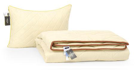 Акция на Набор с шелковым волокном MirSon Деми Carmela №3572 Одеяло 140х205 + подушка 50x70 средняя (2200002320795) от Rozetka