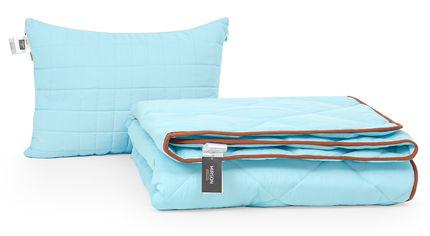 Акция на Набор с шелковым волокном MirSon Зима Valentino №3554 Одеяло 155х215 + подушка 50x70 средняя (2200002325240) от Rozetka