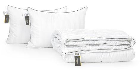 Акция на Набор с шелковым волокном MirSon Деми Royal Pearl Hand Made №3603 Одеяло 172х205 + 2 подушки 50x70 упругие (2200002322072) от Rozetka