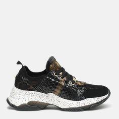 Акция на Кроссовки Steve Madden Mescal Sneaker SM11000687-363 38 (8720236139535) от Rozetka
