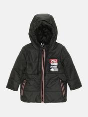 Акция на Зимняя куртка Одягайко 20305 104 см Черная (2000000181189) от Rozetka