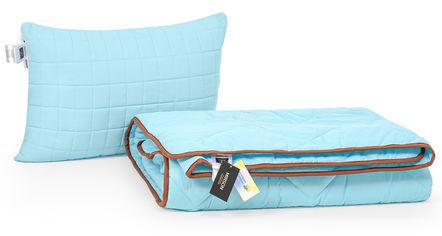Акция на Набор с шелковым волокном MirSon Деми Valentino №3550 Одеяло 155х215 + подушка 50x70 мягкая (2200002321297) от Rozetka