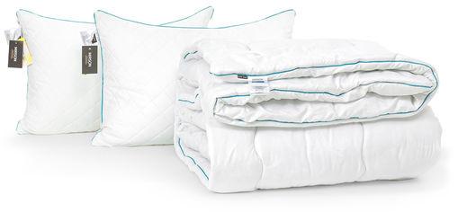 Акция на Набор с шелковым волокном MirSon Зима Eco Hand Made №3469 Одеяло 200х220 + 2 подушки 50x70 мягкие (2200002326148) от Rozetka